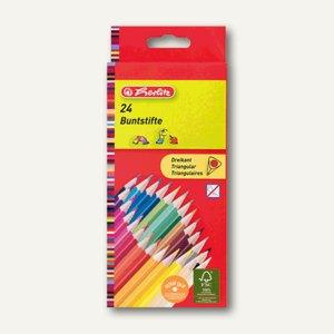 Dreikantbuntstifte lackiert