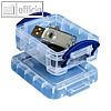Really Useful Box Aufbewahrungsboxen 90 x 65 x 30 mm | Büroklammern etc. (5 Stück)