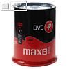 Maxell DVD-R Rohlinge, 4.7 GB, 16x Speed, 100er Spindel, 275611.40.IN