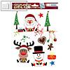 Herma Weihnachts-Fensterbild WEIHNACHTSFREUDE, ablösbare Folie, 30 Sticker,15115