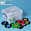 "Really Useful Box Aufbewahrungsbox 456 x 356 x 230 mm | 7""-Vinyl-Single-Schallplatten, VHS Videos"