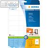 """Herma Etiketten """"Premium"""", 66 x 33.8 mm, permanent, weiß, 600 Stück, 5053"""