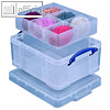 Reallyusefulbox Aufbewahrungsbox Mit Einsaetzen 450 x 350 x 200 mm