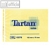 Tartan Haftnotizen Notes, gelb, 102 x 76 mm, 010276